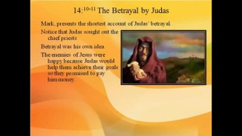Bible Study - Mark 14:12 Judas