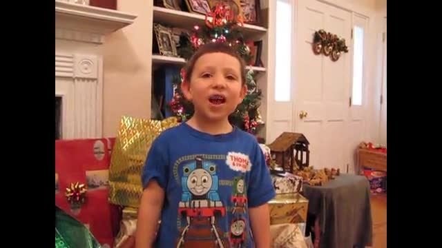 My Little Boy Singing YOU a Merry CHRIST-mas Song!