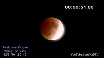 Lunar Eclipse 2010 - AWESOME!