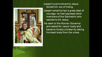 Bible Study - Mark 15:42-47 The Burial of Jesus