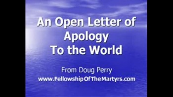 Apology to the World