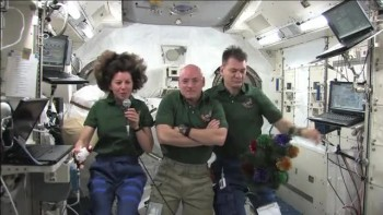 International Space Station Crew Sends Christmas Greetings to All 