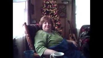 Keller home Christmas Morning