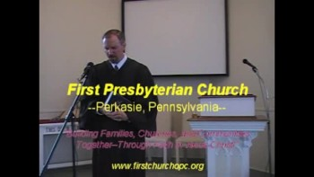 "Sermon: ""The Mystery of Godliness,"" Rev. R Scott MacLaren, First Presbyterian Church Perkasie"