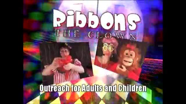 Ribbons the Clown/Ventriloquist Commerical