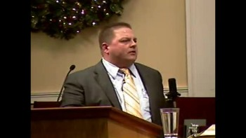 Sun PM Preaching - 12-26-2010 -  Community Bible Baptist Church 2of2