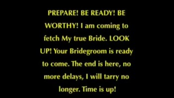 Prophecy: The Bridegroom is hear Go out to meet him