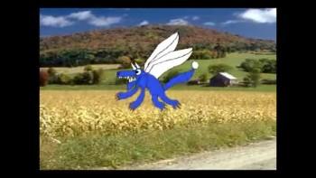 Dragon 2d animation