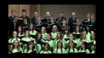 Мы блуждали. Молодёжный хор. 2010