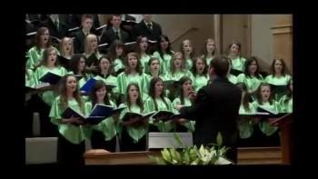 Воскресение Христа. Молодёжный хор. 2010