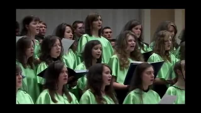 Христос Воскрес. Молодёжный хор. 2010