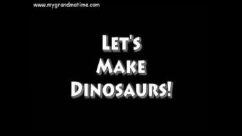 Let's make Dinosaurs