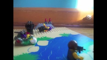cool lego battle