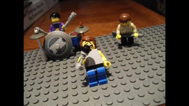 'Monster Monster' Lego music video (song by The Almost)