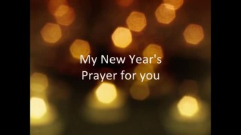 New Year's Prayer