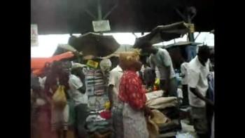 Market Place In Uganda