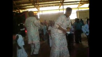 Church in Uganda Dancing