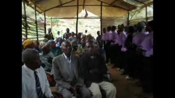 Choir in Mt. Kilimanjaro area