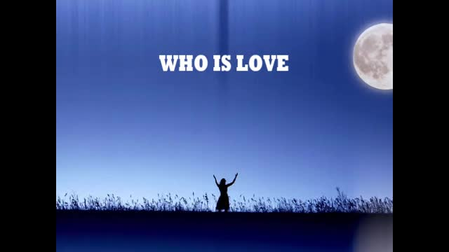 THE ONE WHO IS LOVE - Sheryl L Danner