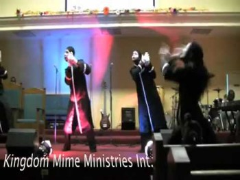"gospel mime by lance love ""all things are working for me"""