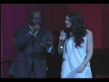 Katharine McPhee and Bebe Winans - KA WELL DONE AWARDS