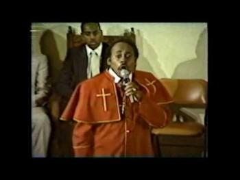 Rev Paul Morton singing God's Gonna Wipe All Your Tears Away aka Your Tears 1984