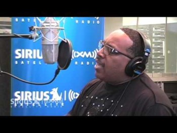 "Marvin Sapp Performs ""The Best In Me"" on SIRIUS XM"