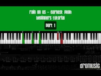 Rain On Us Earnest Pugh (Part 1) Piano Tutorial
