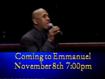 BISHOP JOSEPH WALKER III AT EMMANUEL CHRISTIAN MINISTRIES