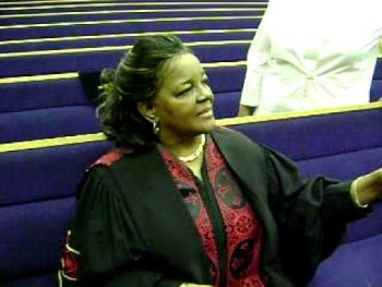 Me and my God-mother Shirley Caesar