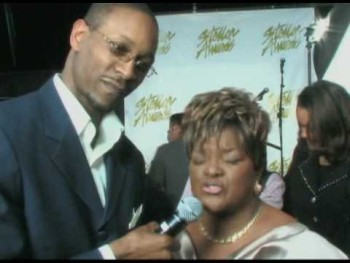 A Sound Voice LIVE! interviews Pastor Shirley Caesar backstage at the 24th Annual Stellar Awards