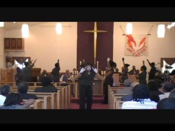 Brooks Youth Aflame (Mime Ministry) God is Here by Bria Brooks and Daijha Thomas