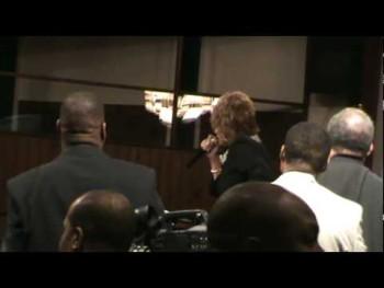 DR. DORINDA CLARK-COLE PREACHING IN ALBANY GA