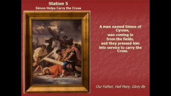 Stations of the Cross; part 1-Darlene Mary Fulton 2011