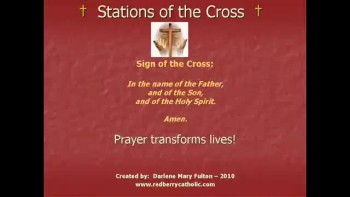 Stations of the Cross (14 Stations); Darlene Mary Fulton 2010