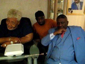 Elder Marvin Miller, Rev. Rance Allen, Pastor Bennie Oliphant