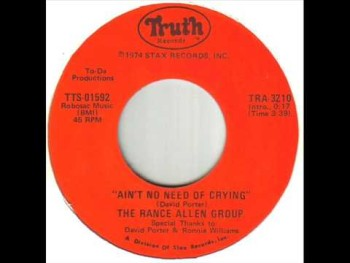 The Rance Allen Group Ain't No Need Of Crying