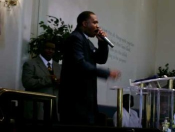 preaching at rance allen church