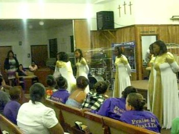 "Love Temple Ministry In Motion ""Something About the Name Jesus"" by Kirk Franklin/Rance Allen"