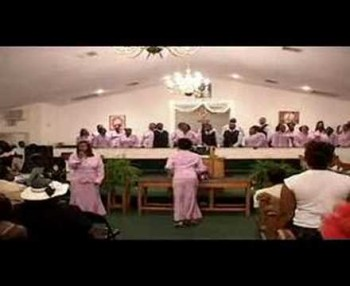 Wingate Church Choir Singing Luther Barnes Spirit Fall Down Part 1