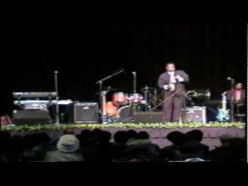 Martin L Herring Live on program, Luther Barnes and the Sunset Jubilaries Headliners for Sarah's Refuge at Duplin County Event Center pt 1 wmv