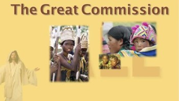 The Great Commission and Bible Translation