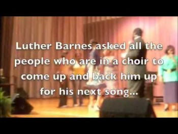 Luther Barnes FREE Community Concert
