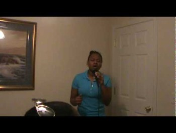 Luther Barnes/ Spirit Fall Down sung by Britney O. Davis