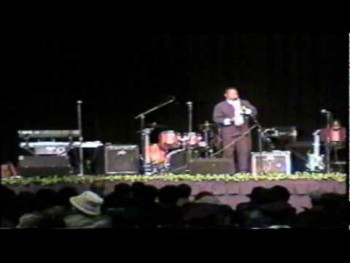 Martin L Herring Live on program, Luther Barnes and the Sunset Jubilaries Headliners for Sarah's Refuge at Duplin County Event Center pt 2 wmv