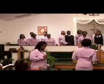 Wingate Church Choir Spirit Fall Down Part 3