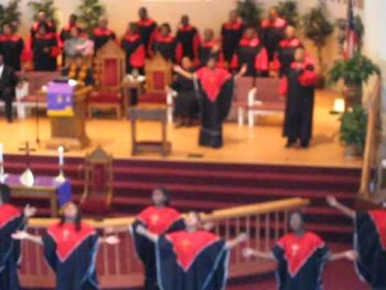 St. Stephens AME Zion Church- Spirit Fall Down