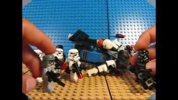 Lego Star Wars Epidode XVIII: Crossing the Red Sea