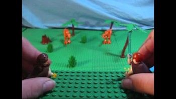 Lego Star Wars Episode XX: Crossing the Jordan River.