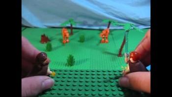 Lego Star Wars Episode XX: Crossing the Jordan River.